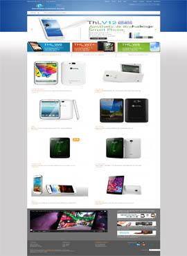 Paginas web baratas con diseño profesional  Distribuidor THL España